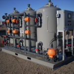 Industrial sand filter system, turnkey water filtration