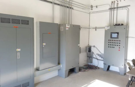Remediation control systems, Custom control panel