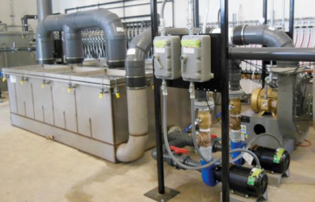 Turnkey air stripper system, Water treatment solutions